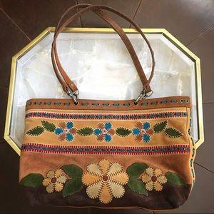 Isabella Fiore Suede Bag Vintage